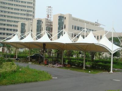 汽车棚膜结构