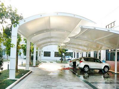 云南中医学院第二附属医院膜结构停车场