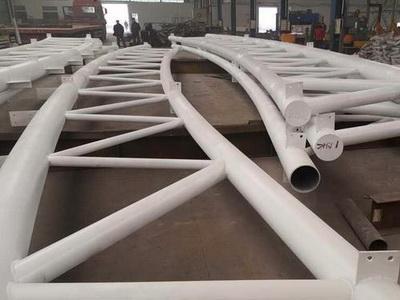 钢结构桁架加工2