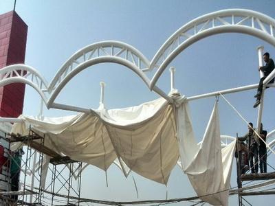 膜结构安装膜结构安装