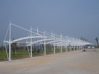膜结构车棚钢结构