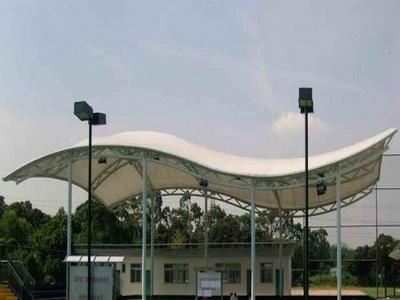 佛山市南海区大沥镇文化站黄岐文化中心网球场膜结构