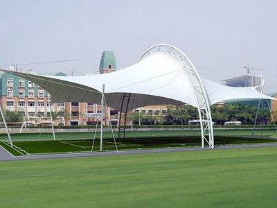 鞍山一中网球场膜结构