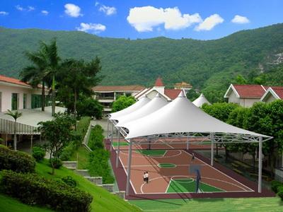 国家税务总局罗定市税务局网球场膜结构