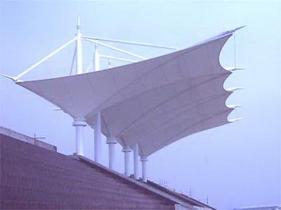安徽合肥技师学院体育看台膜结构