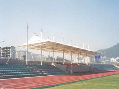 四新中学(武汉三中)体育看台膜结构