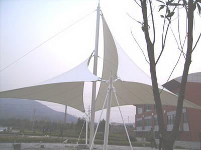西安市长安区皇何路景观膜结构