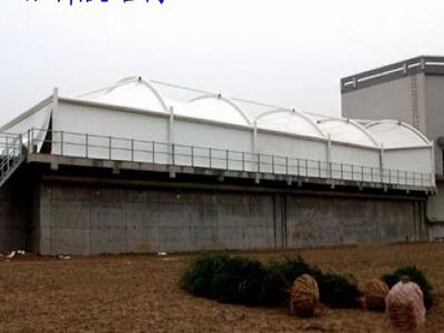 胶南新能源-污水池膜结构改造项目-建筑膜材网
