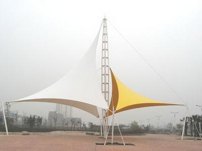 平湖市林埭镇创意文化旅游产业园景观膜结构