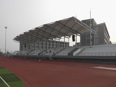 苏州大学文正学院体育看台膜结构
