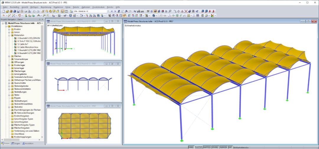 膜结构设计验算