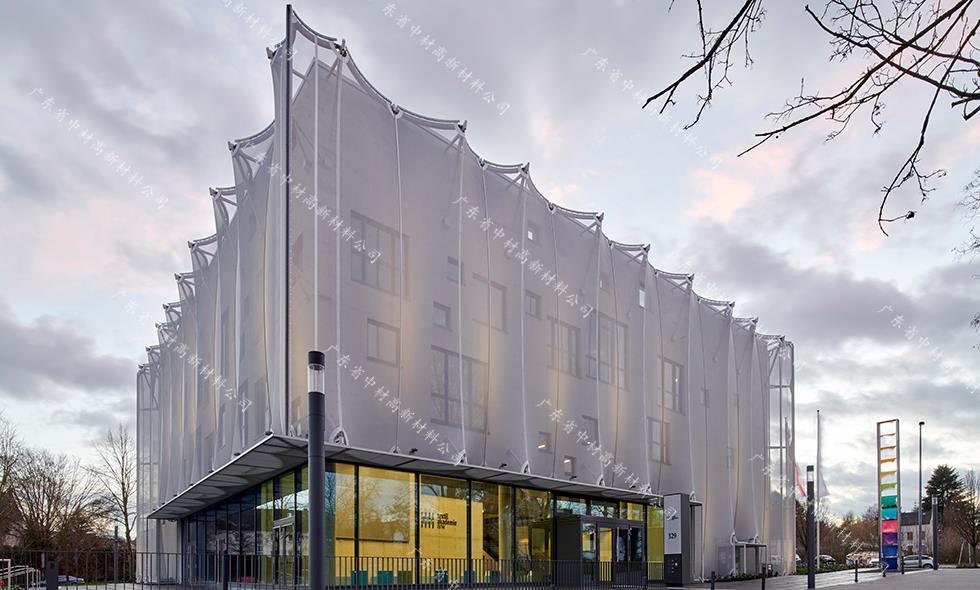 北威州纺织学院外立面幕墙膜结构工程