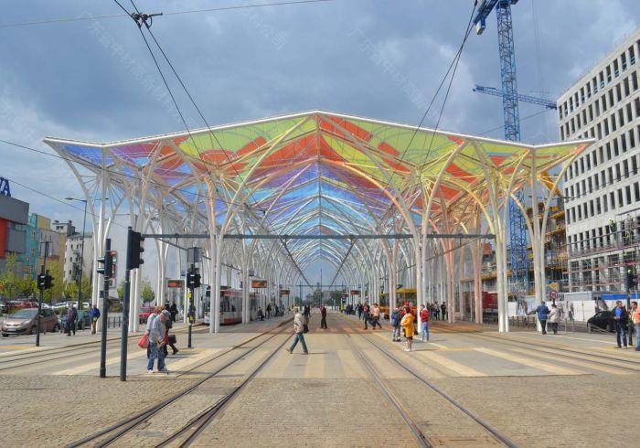 ETFE膜材-个性化建筑膜结构