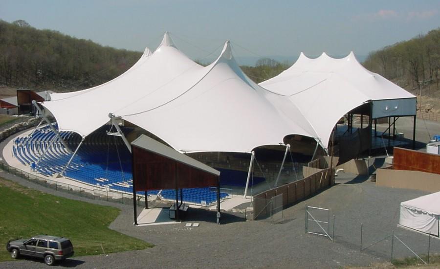 游泳馆膜结构案例
