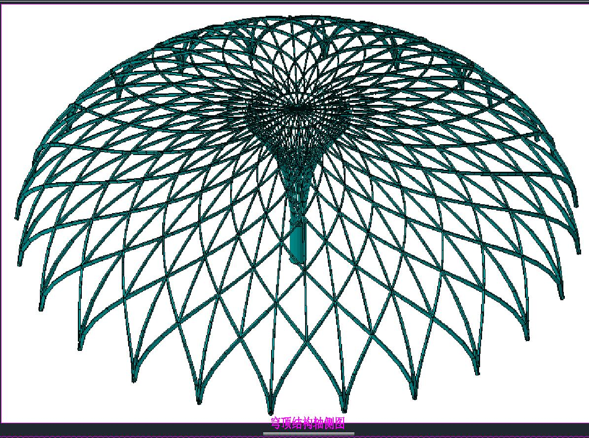 穹顶膜结构设计施工